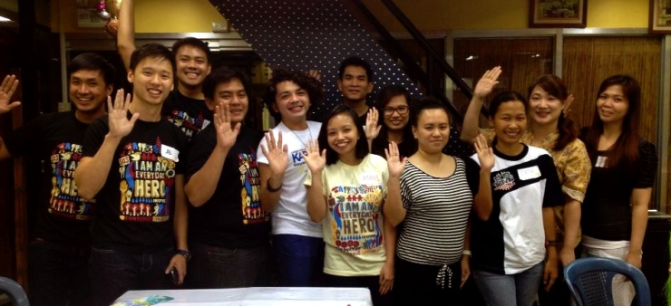The iVolunteer Philippines team together with volunteers at our first Community Meet Up!