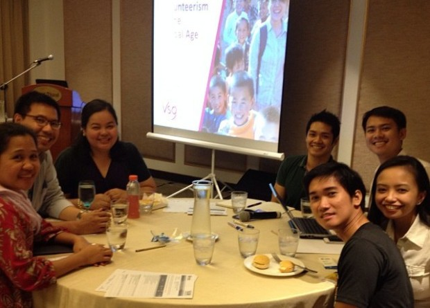 iVolunteer Philippines together with Habitat for Humanity and VSO Bahaginan at the Habitat for Humanity Asia Leadership Conference in September