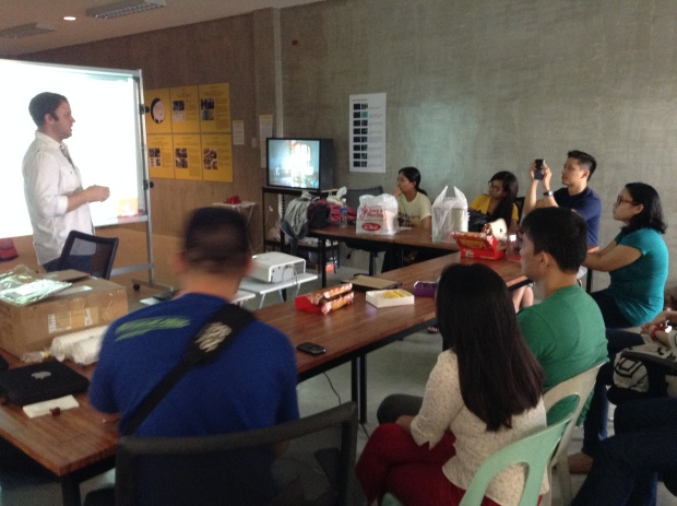 The iVolunteer Philippines team listens intently during the Usability Workshop provided by Foolproof Labs together with Curiosity Design Research