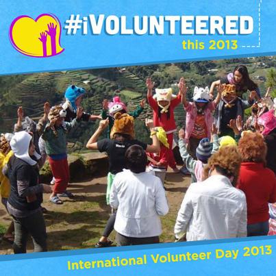Aiza's winning entry about her volunteer experience of welcoming survivors of super typhoon Yolanda at Villamor Air Base | Original Photo Link
