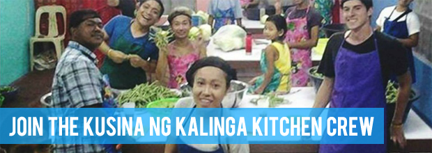 Ready your apron and hairnets because we are going to cook for hundreds… or thousands… in the Kusina ng Kalinga!
