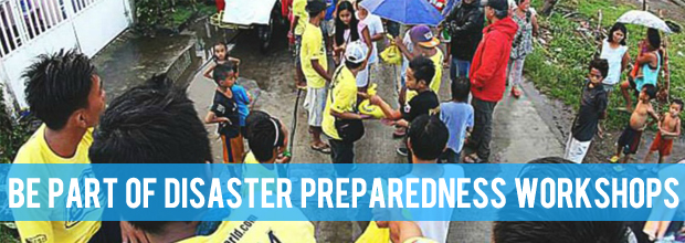 Build a roster of disaster-ready barangays