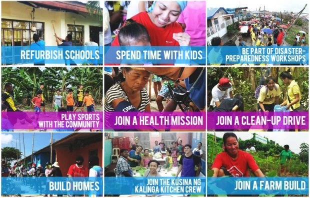 Gawad Kalinga Bayani Challenge 2015 activities