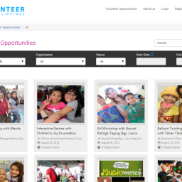 iVolunteer Website Upgrades