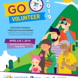 Go! Volunteer is Back! Come and Discover Yourself This April